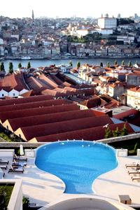 Porto, Portugal from the Yeatman Hotel