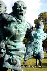 Sculptures i Hyde Park