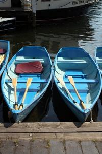 Boats at the Henley Royal Regatta